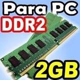 Memoria Ram Ddr2 2gb Para Pc Usada Garantizada!