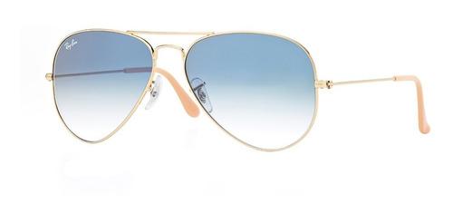 c637600bb7 Gafas De Sol Aviador Ray-ban® Aviator Blue Gradient