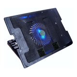 Base Refrigerante Portátil Cooling Pad 638b, 5 Nivel / 2 Usb