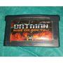 Batman - Rise Of Sin Tzu / Gameboy Advance Gba Compatible Ds