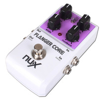 Pedal Nux Flanger Core Para Guitarra Electrica True By Pass