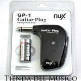 Amplificador De Audifonos Nux Gp1 Para Guitarra Electrica *