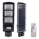 Lampara Para Exterior Solar Led De 90w Con Sensor De Luz