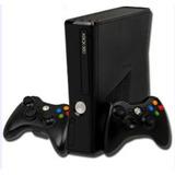 Xbox 360 Slim 250g +  Juegos  +2 Controles +2 Obsequios