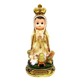 Virgen De Fatima Bebe Dorada 20cm 529-79254  Religiozzi