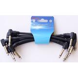 Set 6 Cables Kirlin I6243 Inter Pedales Efectos Guitarra /