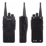 Radio Kenwood Tk3207 Uhf + Dos Baterias 16 Canales