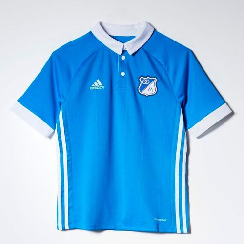 f1eba81c650d5 Camiseta Millonarios 2017 Niño Original adidas  Envio Gratis