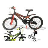 Bicicleta Niño Gw Rin 20 Con Accesorios Promoción Oferta