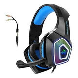 Gaming Headset With Mic Para Xbox One Ps4 Pc Tableta Ninten