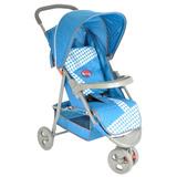 Coche Bebe Paseador 3 Ruedas Pocholin Baby Color Azul Marino