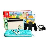 Combo Animal Crossing New Horizons  + Juego + Case + Pokemon