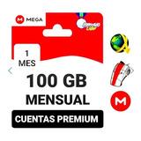 Cuentas Premium Mega 1 Mes Oficial 100gb Envío Inmediato