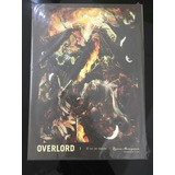 Panini Novela Ligera Overlord El Rey No Muerto  Tomo 1