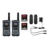Par De Radios Motorola T200 Mas Dos Manos Libres