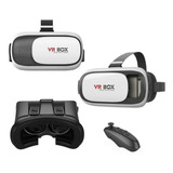 Gafas Realidad Virtual 3d Vr Box + Control Bluetooth Juegos