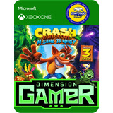 Crash Bandicoot N-sane Trilogy Xbox One No Codigo Offline