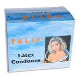 Caja Condones Preservativos Tulip, - Unidad a $250