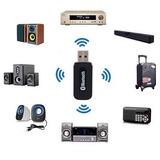 Receptor Adaptador Bluetooth Audio Musica, Equipos, Carro,