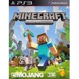 Minecraft Ps3 Entrega Inmediata Original