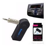 Adaptador Receptor Bluetooth 3.5mm Aux Carro Manos Libres
