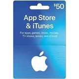 Tarjeta Itunes Apps Store 50 Usd Entrega Inmediata