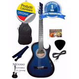 Guitarra Electroacústica Aire Artesanal Cable Forro Pua
