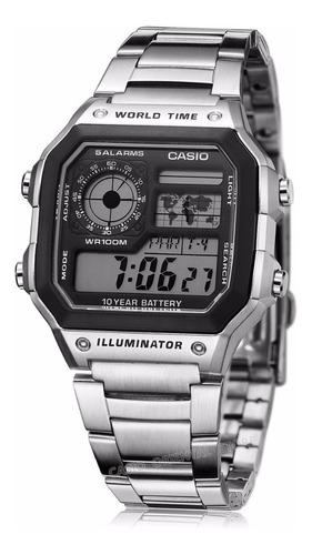 b77fe8b59 Reloj Casio Ae 1200whd Batería 10 Años Alarma 100% Original