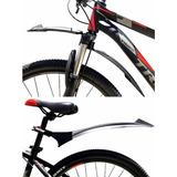 Guardabarros Bicicleta Delantero Y Trasero Mtb 26 27.5 29