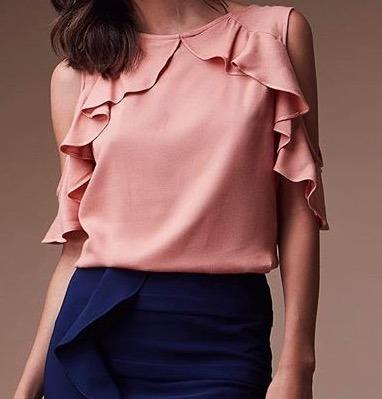Blusas para mujer Limonni LI522 Campesinas