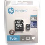 Memoria Micro Sd 16 Gb Hp Clase 10 Uhs-i 80 Mb/s Genuina