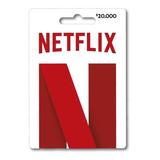 Tarjetas De Regalo Pin Virtual De Netflix - Saldo $20.000