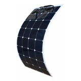 Panel Solar Monocristalino Semi Flexible 100w 12v Aleman