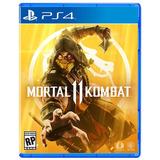 Mortal Kombat 11 Ps4. Español Latino. Físico. Sellado