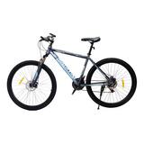 Bicicleta Todoterreno Mtb Base Negro Hombre - Mujer Rin 29