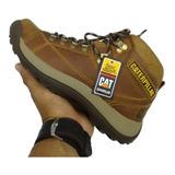 Zapatos Botas En Cuero Caterpillar, Calzado Para Hombre