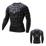 Buzo Spiderman Venom Lycra Gym Spandex Marvel Comic Heroe