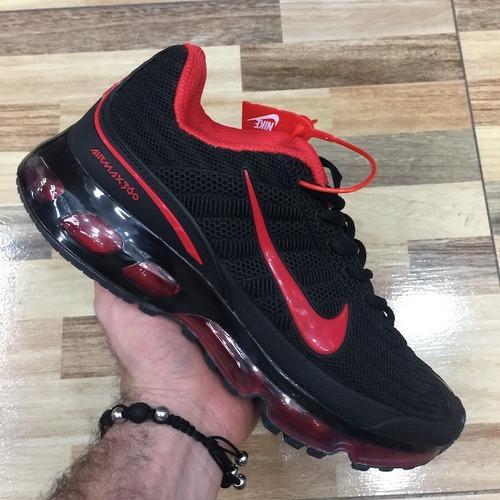 Tenis Zapatillas Nike Air Max 360 Negra Hombre Envio Gratis fd69c5db358