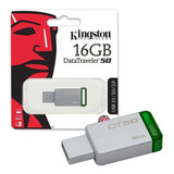 Memoria Usb 16gb Kingston Dt 3.0 Original