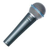 Microfonos Shure Alámbrico Beta 58a Vocal Supercardioide
