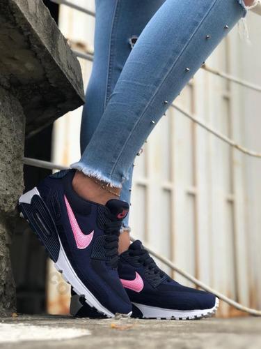 Tenis Zapatillas Nike Air Max 90 Para Mujer + Envío Gratis