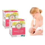64 Sobres Té Mother's Milk® Orgánico Aumenta Leche Materna