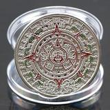 Nueva Moneda Colección Calendario Maya Excelente Calidad