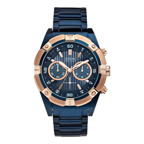 de3243f781b5 Reloj Guess W0377g4 Azul Hombre