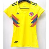 Camiseta Selección Colombia Dama Manga Corta