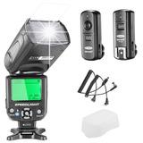 Nw-562 I-ttl Flash Speedlite Kit Para La Cámara Nikon D...