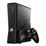 Xbox 360 Slim 4gb Con 2 Controles +10 Juegos Obsequio + Envi