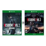 Resident Evil 3 + Resident Evil 2 (remake) - Digital - Offli