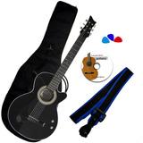 Combo Bucaramanga Av Guitarra Electroacustica Negro