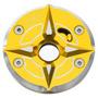 Tapa De Tanque Para Moto Bws Sep Modelo 2-amarillo